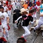 Embert ölt a bika egy spanyol fesztiválon