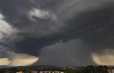 Félelmetes légköri jelenséget fotóztak Balassagyarmaton