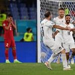 Eleinte vontatott, de sima meccsen hámozta át magát Olaszország a törökökön az Eb nyitómeccsén