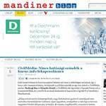 A Corvinus Egyetemhez megy a Mandiner főszerkesztője