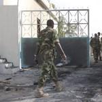 Eddig kilenc ember halt meg a szomáliai belügyminisztérium elleni támadásban