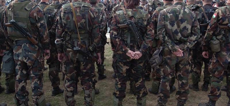 Toborzás: a jelentkezők fele alkalmas katonai szolgálatra