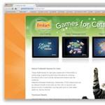Játékok macskáknak iPadre és Androidos táblákra