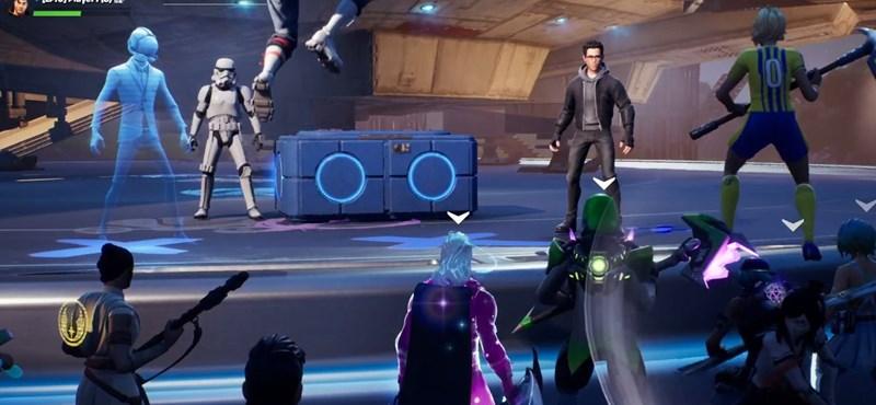 J.J. Abrams megjelent a Fortnite-ban és mutatott egy részletet a Skywalker korából