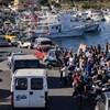 57 menekültet szállítottak az olasz hatóságok Lampedusára