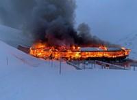 Megsemmisült az Alpokban közel 2500 méteren épült motormúzeum