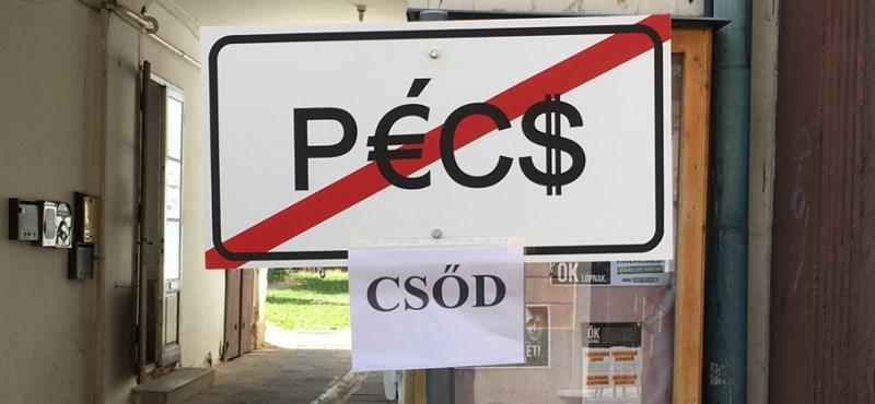 Kiszuperált hadieszközöket vett az adósságban úszó Pécs