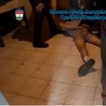 Karddal vették el lakását egy anyától - videón az elfogásuk