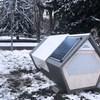 Nyilvános alvókabinokat helyeznének ki Németországban, hogy a hajléktalanok ne fagyjanak meg