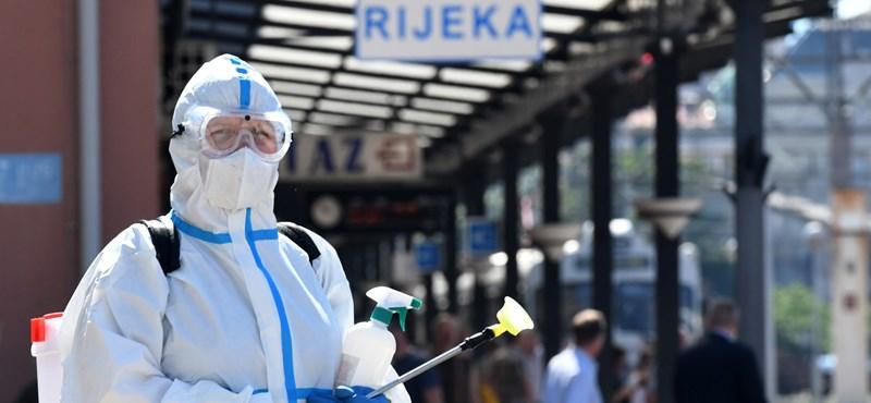 Horvátországban és Szlovéniában csökkent az új fertőzöttek száma