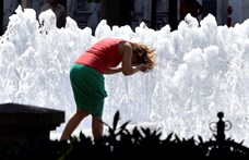 Hőségriasztás: a BKK 40 hektoliter vizet oszt szét