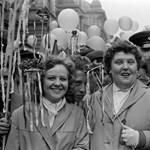 Így ünnepelte Budapest május 1-jét fél évvel az 1956-os forradalom leverése után