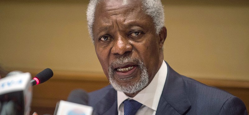 Kofi Annan: Internet a demokrácia ellen