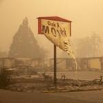 Amerikai erdőtüzek: sci-fibe illő állapotok uralkodnak Oregonban – fotók