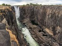 Aggasztó a helyzet, szinte teljesen eltűnt a Viktória-vízesés