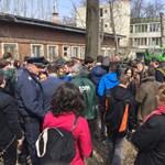 """""""Tessék levonulni a területről!"""" - fideszes balhézott a Liget fáiért - videó"""