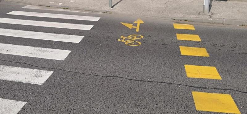Győztek a bringások, lesz kerékpársáv a Blaha Lujza téren – igaz, látszódni még nem fog