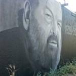 Bud Spencer unokája magyar graffitivel emlékezik nagyapjára