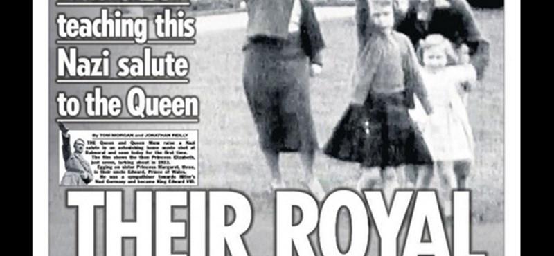 Náci karlendítésen kapták fiatalkorában Erzsébet királynőt