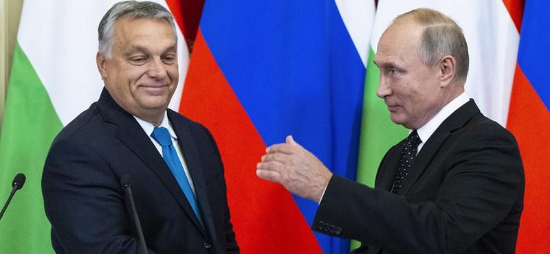 Putyin 2013 végén emelkedett felül Orbán szavain - önös érdekből