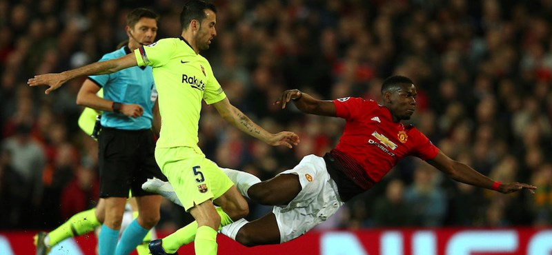 Manchesterben tudott nyerni a Barcelona