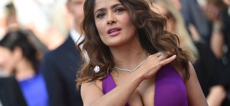 Weinstein Salma Hayeket is kitartóan zaklatta, aztán halálosan megfenyegette