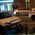 Filmbe illő autós üldözés tegnap este: karamboloztak a Margit körúton a száguldó rendőrautók