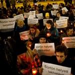 Országos tiltakozás a hajléktalantörvény ellen