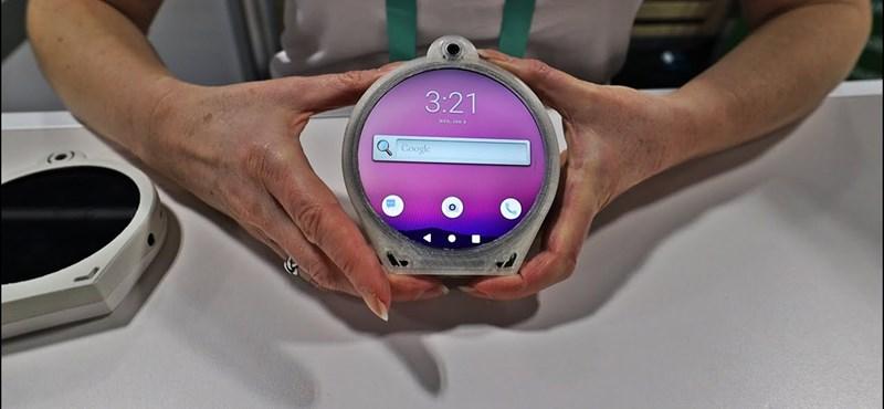 Bizarr kinézetű telefont fejlesztett egy cég, ilyet még biztosan nem látott