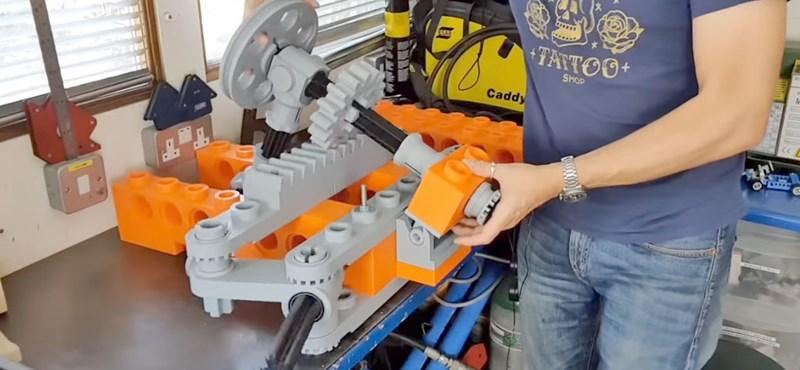 Fogta a Lego Technic gokartot és felnagyította felnőtt méretre
