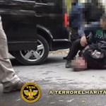 Itt a videó a Teréz körúti robbantás gyanúsítottjának elfogásáról