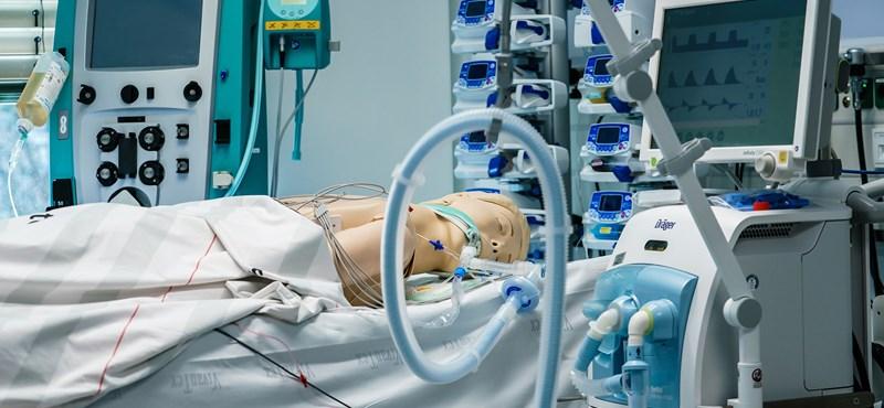 Magyarországon lakosságarányosan több lélegeztetőgép van, mint az Egyesült Államokban