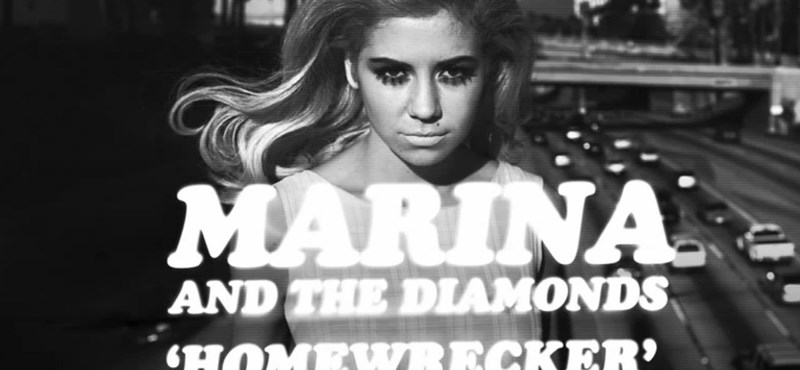 Zeneletöltés ingyen - Marina And The Diamonds: Homewrecker