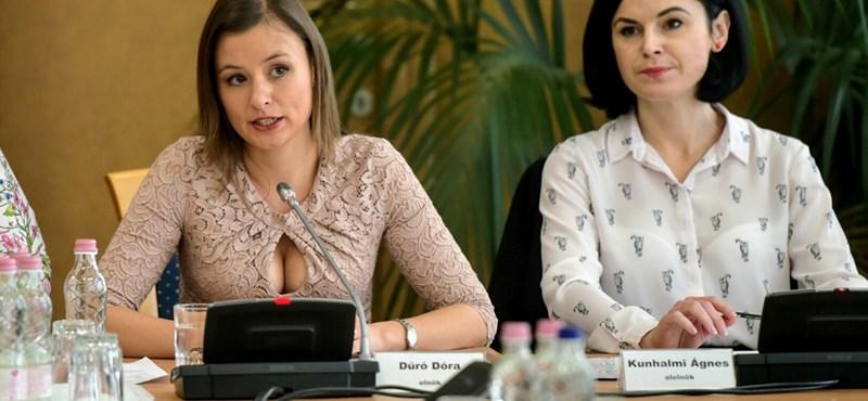 Dúró Dóra magára vette Jeszenszky kritikáját a jobbikos nőkre