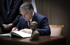 Orbán Viktorékhoz virgácsot is vitt a Mikulás