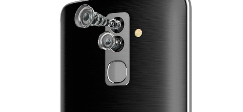 Előre és hátra is dupla kamerát tesz az Alcatel