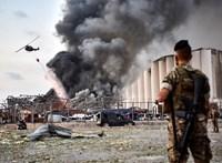 Bejrút a pusztító robbanás után: megrázó képek
