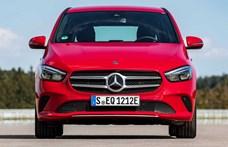 Zöld rendszámos új Mercedes, itt a plugin hibrid B-osztály