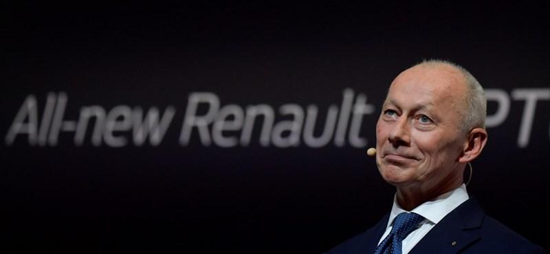 Kirúgták a Renault vezérigazgatóját