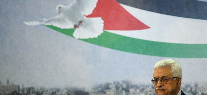 A palesztin vezető is elmegy Simon Peresz temetésére