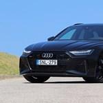 600 lóerő sosem volt még ennyire családbarát: meghajtottuk a kombi Audi RS6-ot
