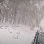 Tömegeket vonzott a friss hó a hegyekbe