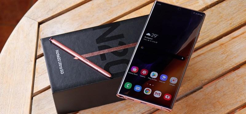 Mindennek a teteje: teszten a Samsung legkomolyabb telefonja, a Galaxy Note20 Ultra