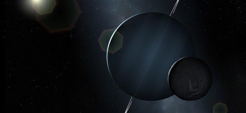 Fingszaga van az Uránusznak