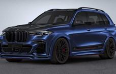 Száguldó hegyomlás lett a legújabb szupererős BMW X7