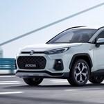 Félig Toyota az első zöld rendszámos Suzuki
