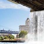 Vízesések New York utcáin