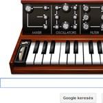 Egy különleges szintetizátor a mai Google doodle