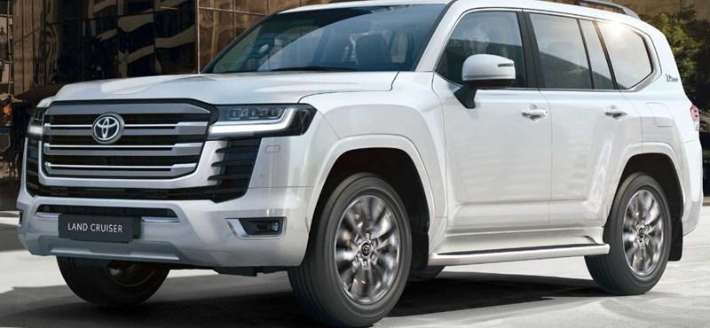 Itt a teljesen új Toyota Land Cruiser