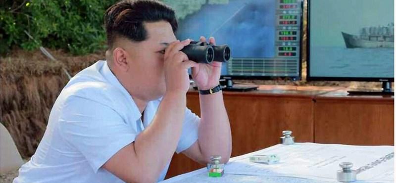 Teljes harckészültség Észak-Koreában